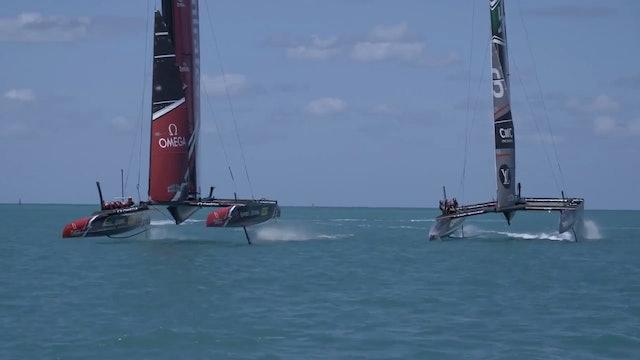 ETNZ - Practise Race boat crash