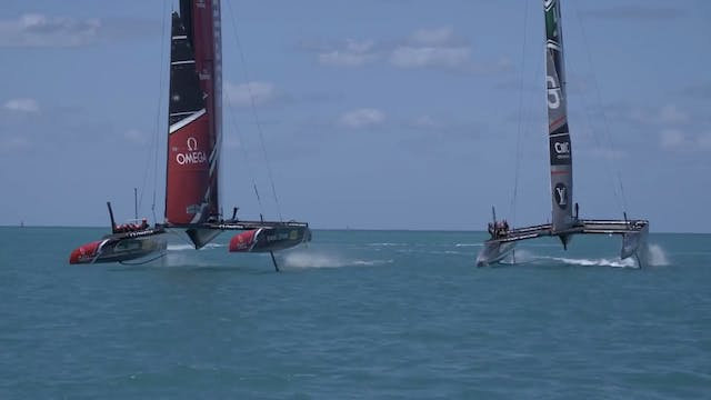 ETNZ - Practise Race boat crash
