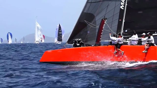 Antigua Sailing Week 2015 - Up On Foils