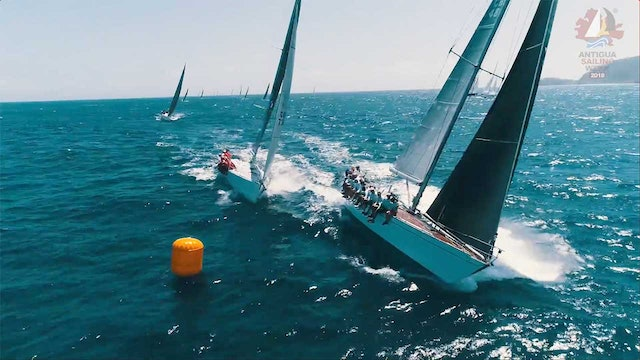 Antigua Sailing Week 2018 - Johnnie Walker - Race Day 4