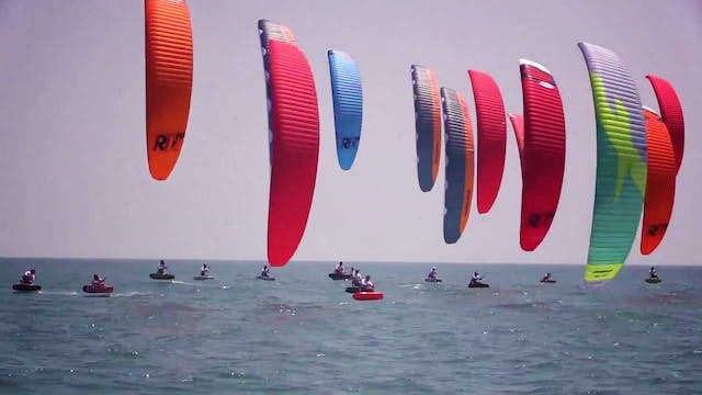 2017 KiteFoil Goldcup Pingtan - Day 1...