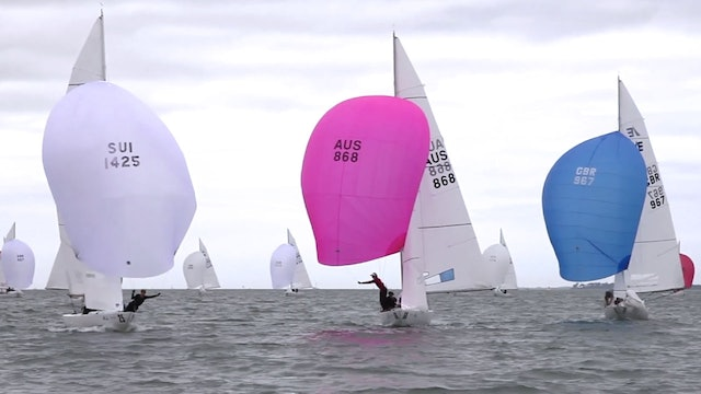 Etchells World Championship 2016 - Day Two