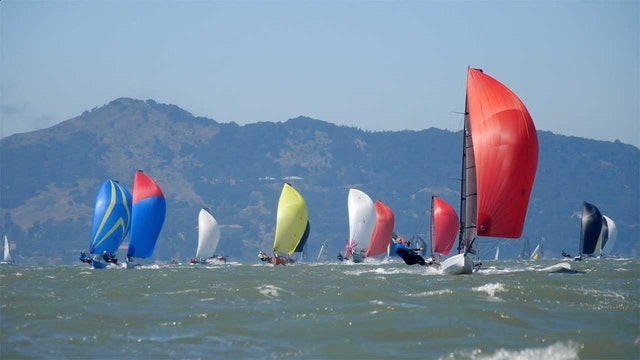 International 14 World Champs 2018 - Day Two - Race One