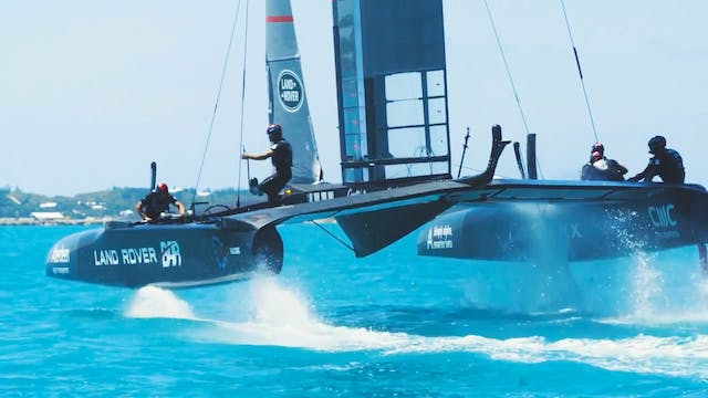 Land Rover BAR - Practice Race week u...