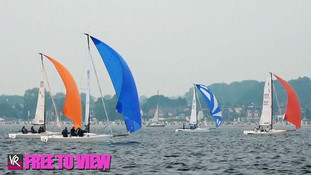 F2V - Kiel Week 2021 - Sailing Highlights - Day 7