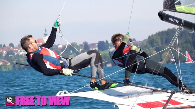 F2V - 49er - 49erFX - Nacra 17 Europeans 2020 - Day Three