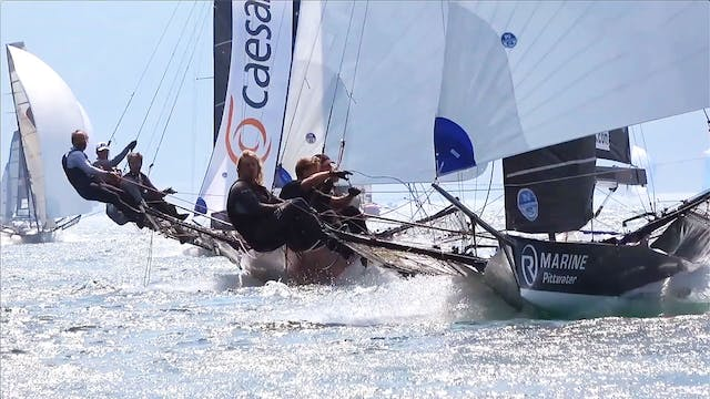 18 Foot Skiff Open European Champions...