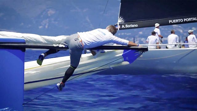 Puerto Portals 52 SUPER SERIES Sailin...