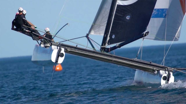 High Octane M32 Racing In Port America's Cup