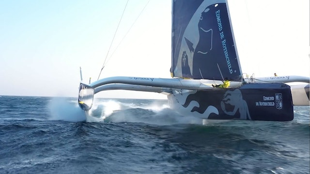 The Maxi Edmond De Rothschild In Flight