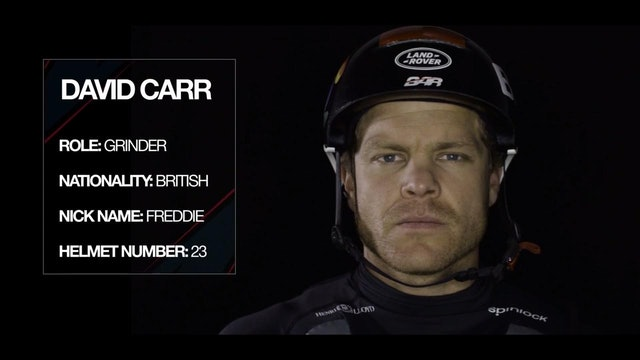 Land Rover BAR - Meet The Team - David Carr