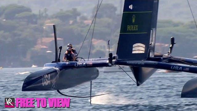 F2V - SailGP - France - Day One