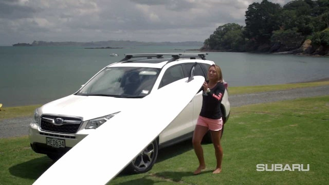 SUPing with Annabel Anderson & Subaru - Lesson 3 Transporting