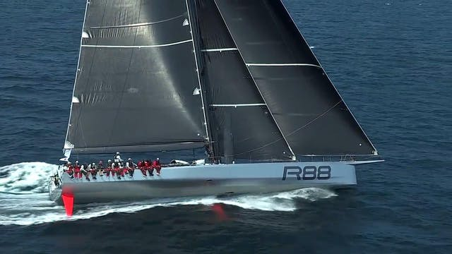 TR15 Transatlantic Race Start