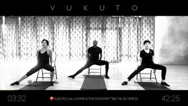 "🔴 VUKUTO Live | CHAIR & THE YOGAMAT ""Ellis"" № 20.18.09.23"