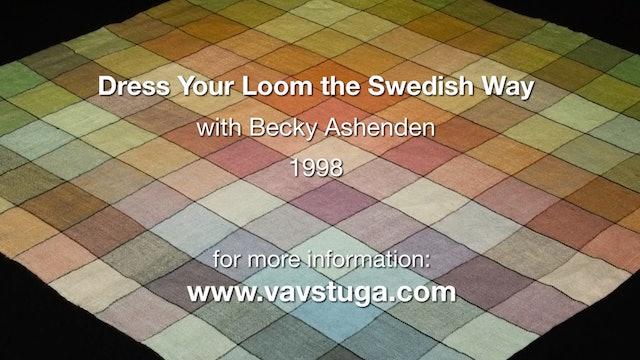 (trailer) Dress Your Loom the Swedish Way