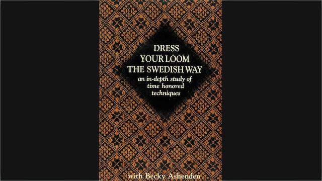 Dress Your Loom the Swedish Way