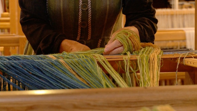 09. Blankets at the loom, part A