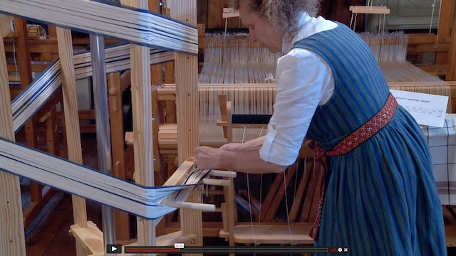 02. Tablecloths at the loom, part A