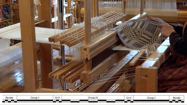 14. Block damask at the loom, part B
