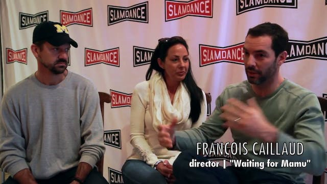 Waiting for Mamu team at Slamdance 2014