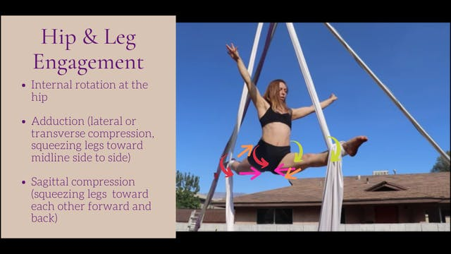 Engagement & Posture in Splits Balance