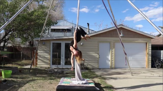 *NEW* Front Balance to Knee Hang - Medium height rig friendly