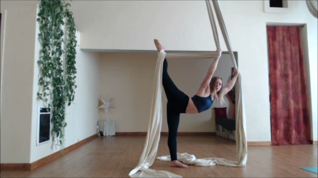 Splits Training ~ Yoga and Fabric Stretches
