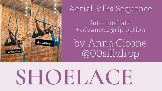 Shoelace by Anna Cicone
