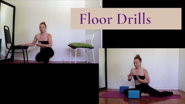 Floor Drills for Splits Balance