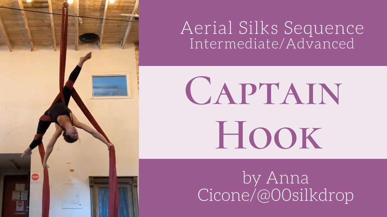 Captain Hook Sequence by Anna Cicone - Int/Adv