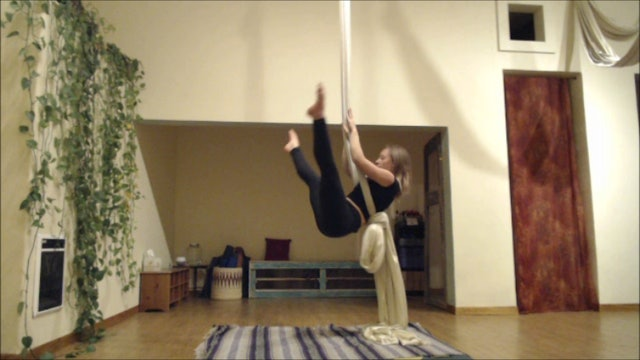 Body Position for Hammock Knot Inversions