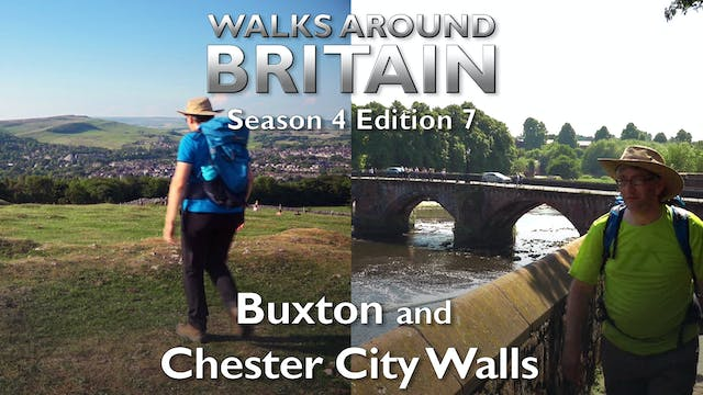 s04e07 - Buxton and Chester city walls
