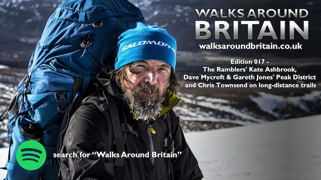 017 - Kate Ashbrook, the Peak District and Chris Townsend