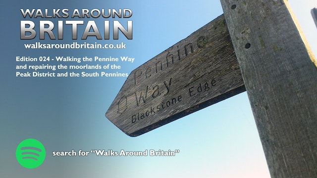 024 - Walking the Pennine Way and repairing the moorlands of the South Pennines