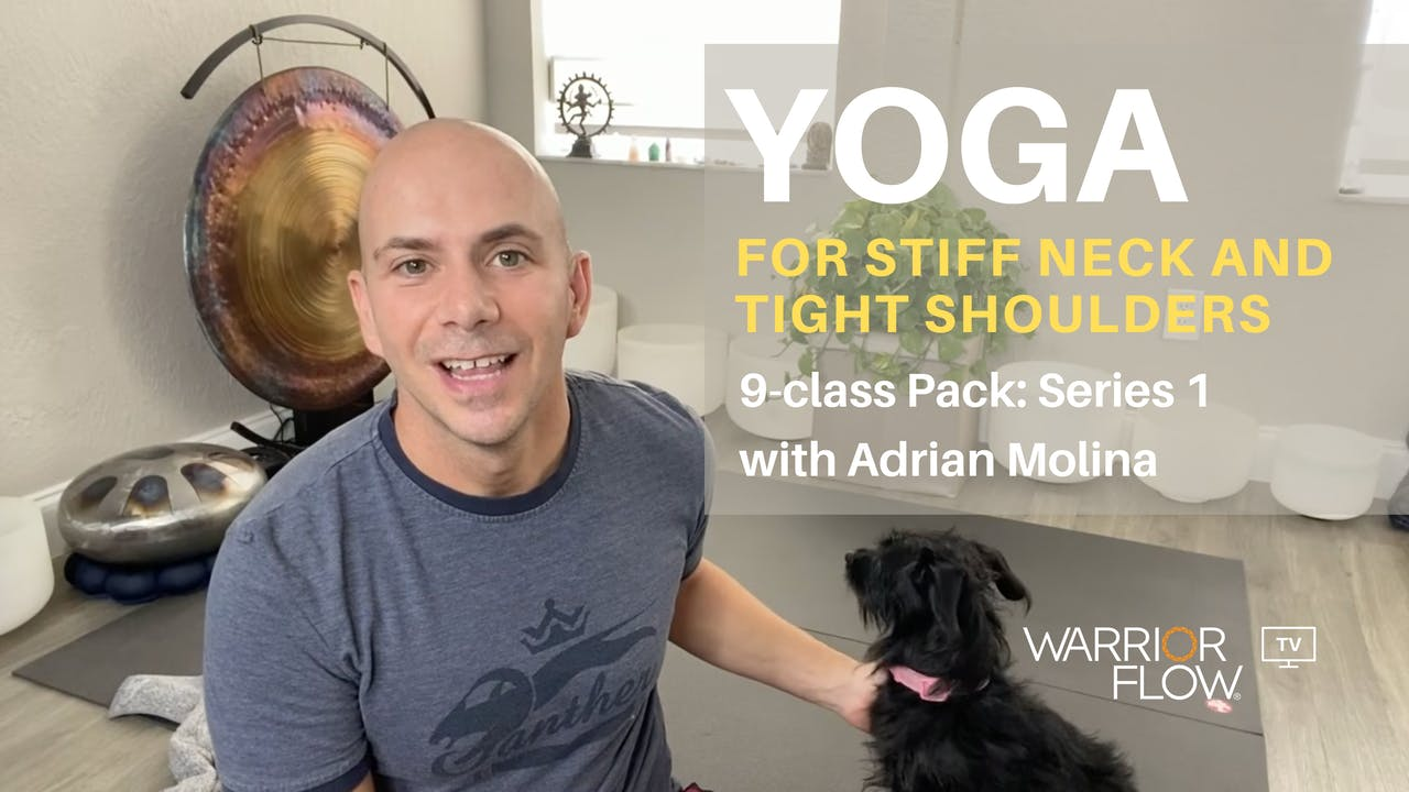 Yoga for Stiff Neck and Tight Shoulders