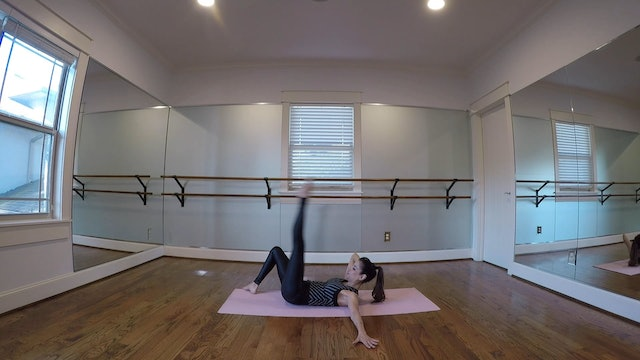 Core and Upper Body Combo with Monica Flores (16 mins)