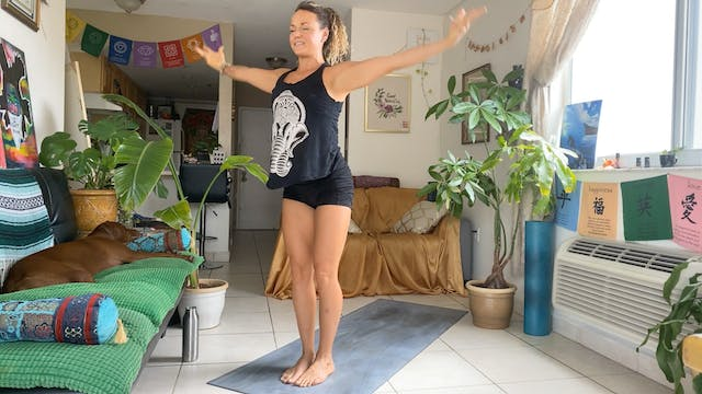 """Stand Strong"" Grounding Yoga with Me..."