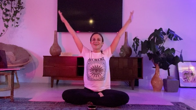 Kids Yoga: Outer Space Adventure with Jackie Angulo (30 mins)