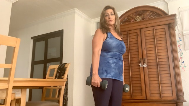Strengthen Your Arms at Any Age with Mary Cerdeiras (20 mins)