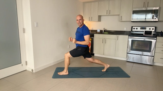 Power Strong Yoga with Adrian Molina (30 mins)