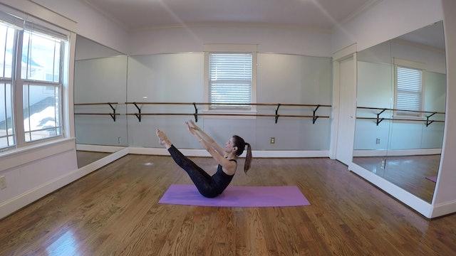 Warrior Pilates with Monica Flores (17 mins)