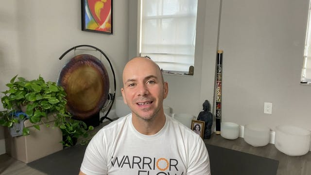 Yoga for Stress Reduction with Adrian Molina: Episode 6 (43 mins)