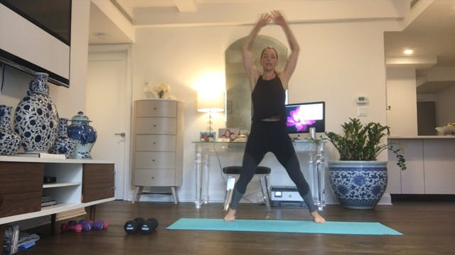 Tabata x4 Strength with Cheryl - 30 mins