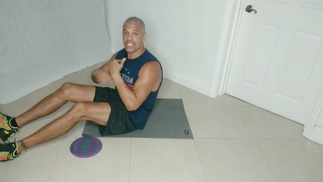 Core and Abs Blast with Angel (20 mins)