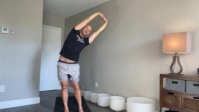 Short Yoga Flow #2 with Adrian Molina (15 mins)