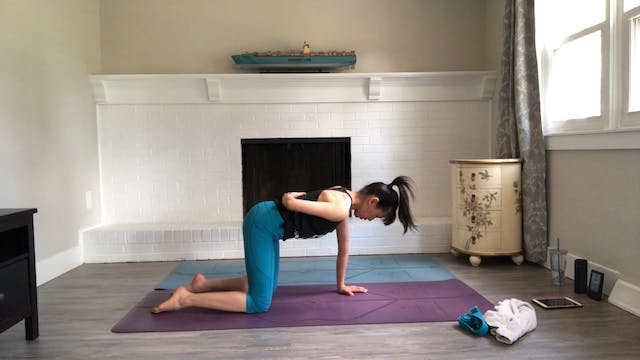Movement and Stretch with a Yoga Stra...