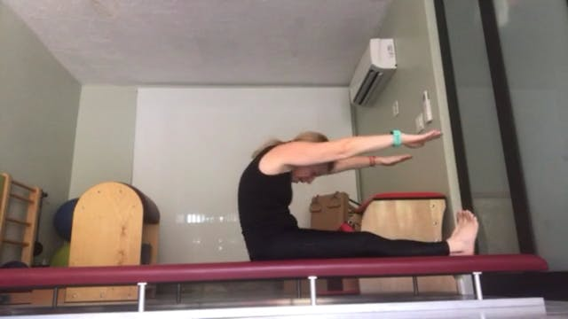 Breath-Focused Pilates with Sue Spine...
