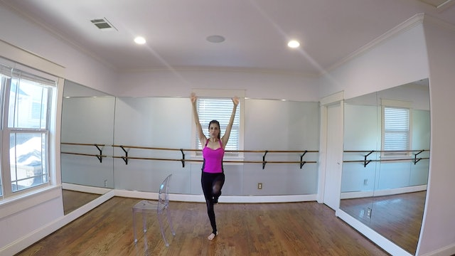 Warrior Barre with Monica Flores (20 mins)