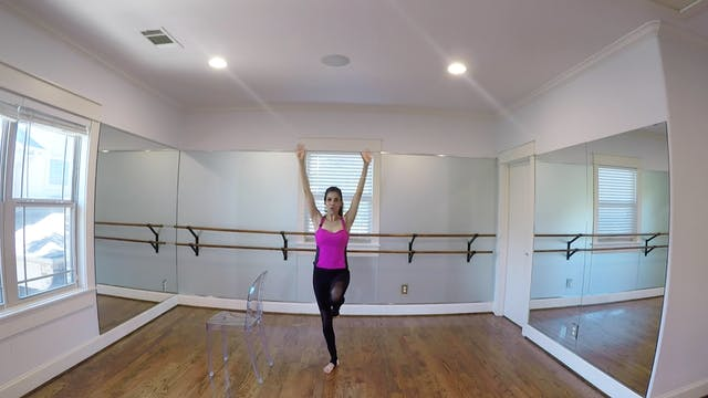 Warrior Barre with Monica Flores (20 ...